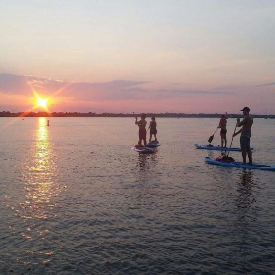 HCPT group sunset