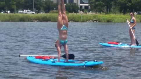 HCPT yoga hand stand